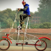 भारत की सबसे ऊँची साइकिल बनाकर इस शख़्स ने बनाए कई सारे रिकॉर्ड